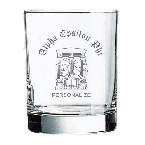 Alpha Epsilon Phi Old Style Glass