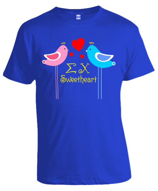 Lovebirds Sweetheart Tee