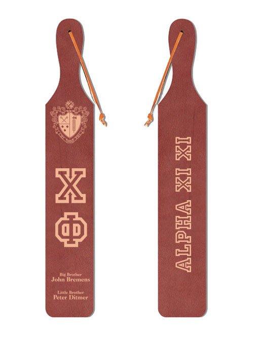 Chi Phi Old School Wood Greek Paddle