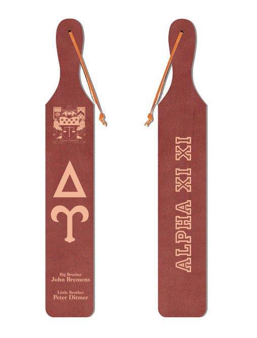 Delta Upsilon Old School Wood Greek Paddle
