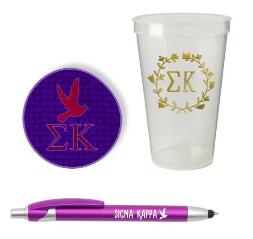 Sigma Kappa Sorority Medium Pack $7.50