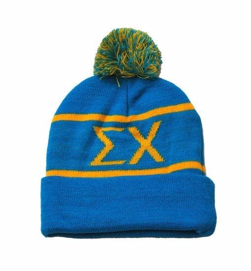 Fraternity & Sorority Winter Beanie Ski Cap