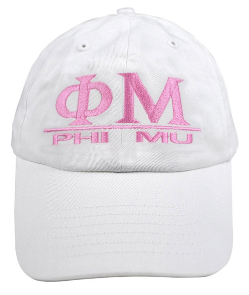 Phi Mu World Famous Line Hat