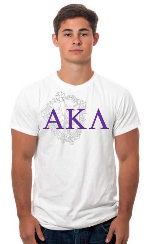 Alpha Kappa Lambda Crest - Shield Tee