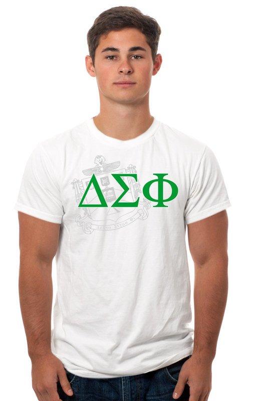 Delta Sigma Phi Crest Tee