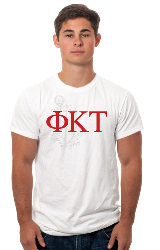 Phi Kappa Tau Crest - Shield Tee
