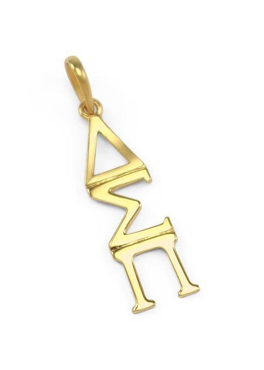 Delta Sigma Pi Premiere Gold Lavaliere