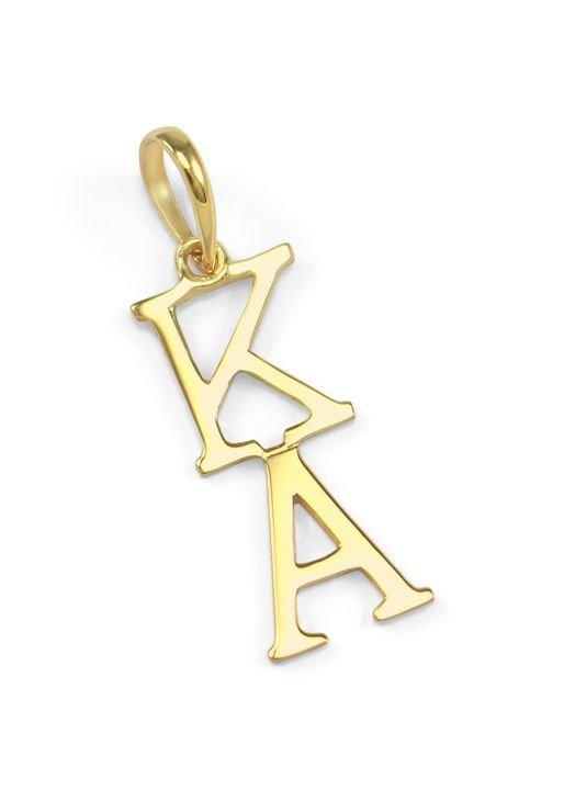 Kappa Alpha Premiere Gold Lavaliere