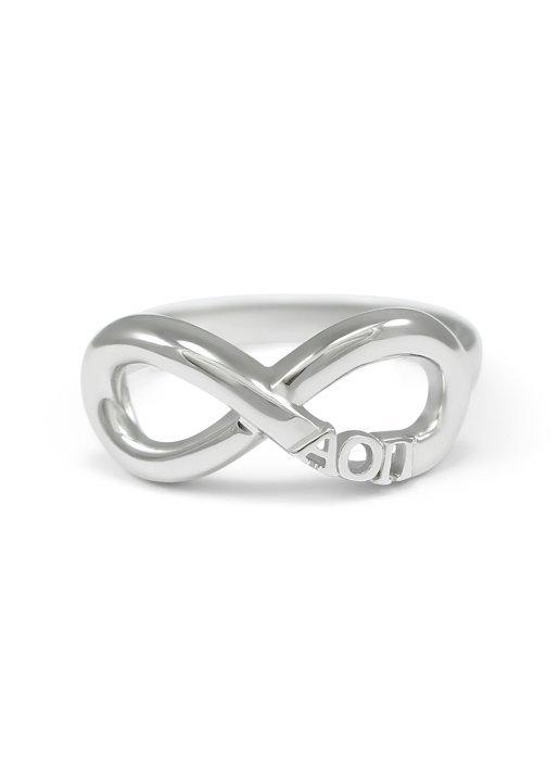 Alpha Omicron Pi Infinity Ring