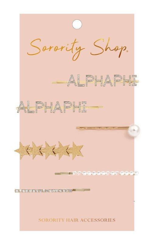 Alpha Phi Hair Clips