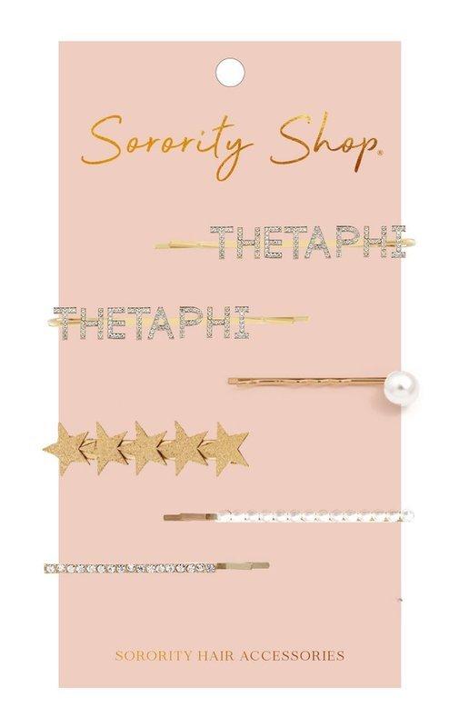 Theta Phi Alpha Hair Clips