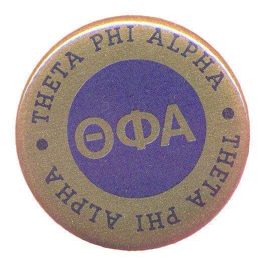 Theta Phi Alpha Button Circle