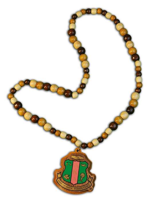 Alpha Kappa Alpha Tiki Necklace