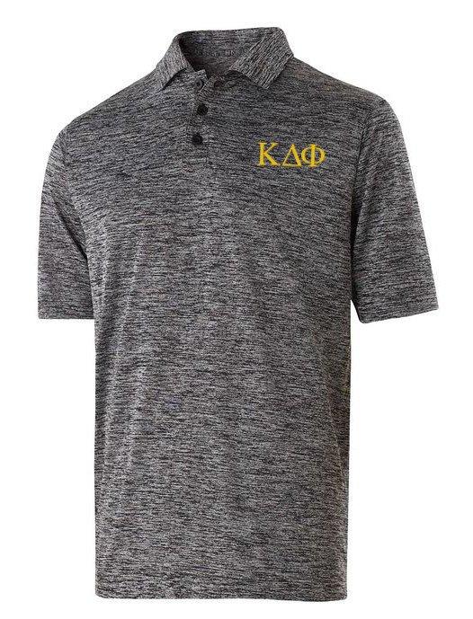 Kappa Delta Phi Small Greek Letter Electrify Polo