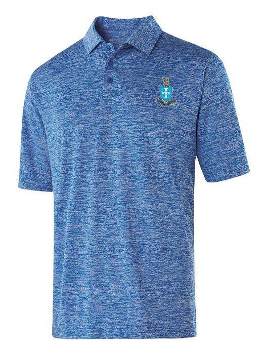 Sigma Chi Greek Crest Emblem Electrify Polo