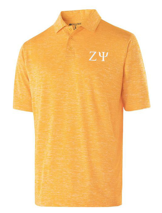 Zeta Psi Small Greek Letter Electrify Polo