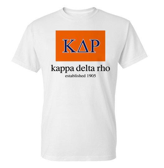 Kappa Delta Rho Flag T-Shirt