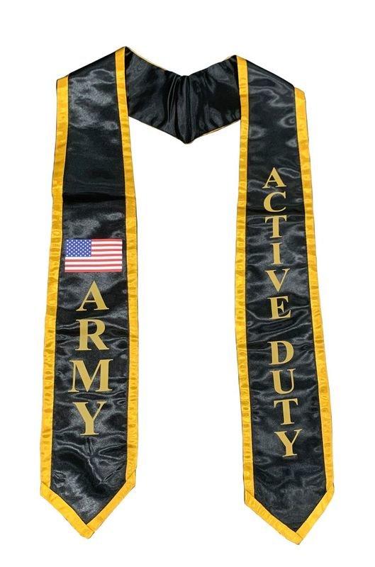 Army Graduation 2 Tone Sash Stole