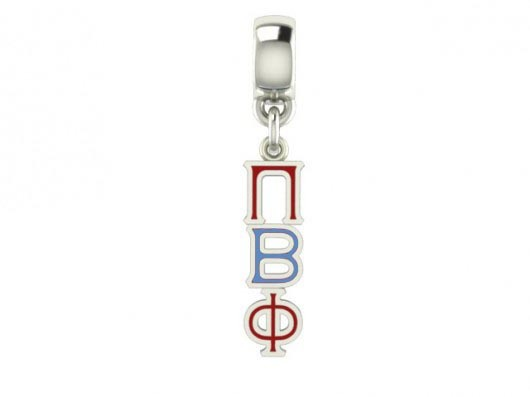 Sorority Color Filled Stainless Lavaliere - ON SALE!