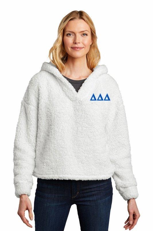 Delta Delta Delta Cozy Fleece Hoodie