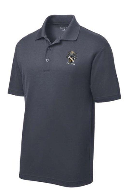 DISCOUNT-Sigma Nu Emblem Polo