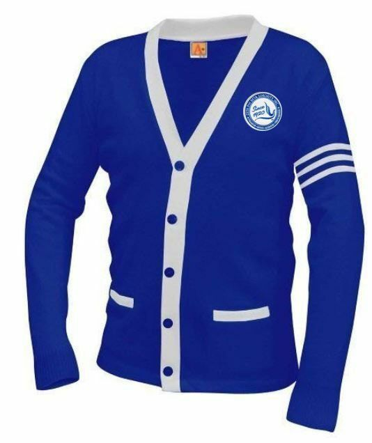 Zeta Phi Beta Varsity Cardigan Sweater