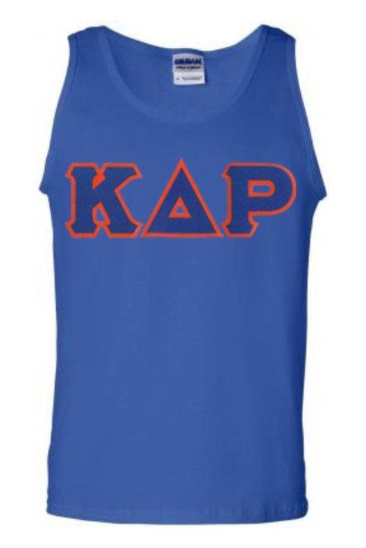 DISCOUNT- Kappa Delta Rho Lettered Tank Top