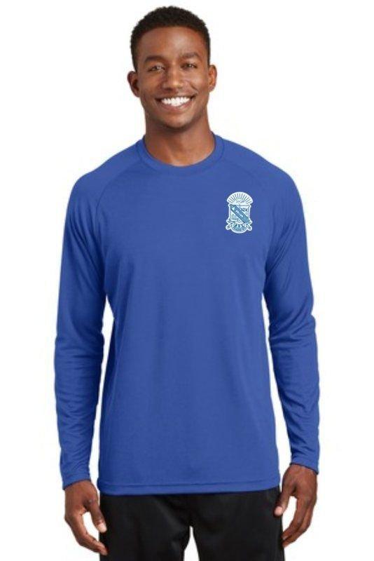Phi Beta Sigma Dry Zone Long Sleeve Raglan T-Shirt