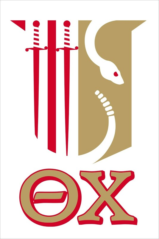 Theta Chi Crest Decal