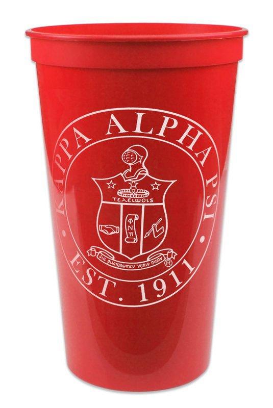 Kappa Alpha Psi Big Plastic Stadium Cup
