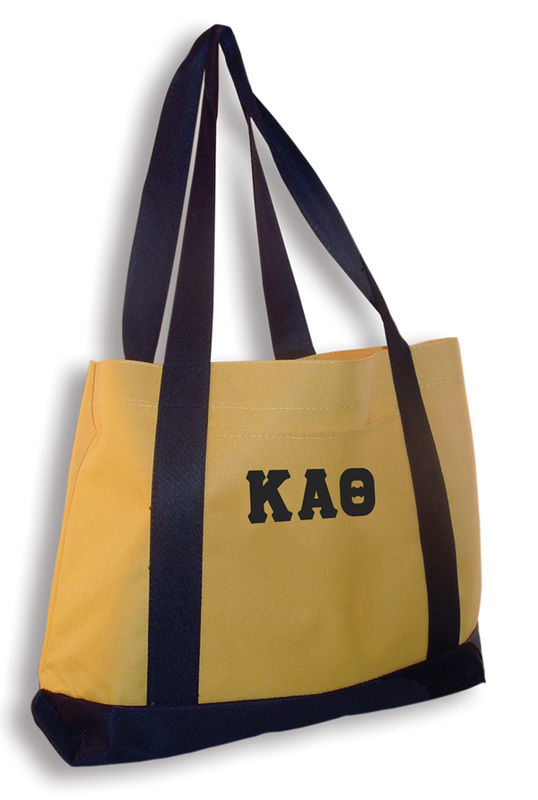 """DISCOUNT-Sorority 2"""" Letter Tote"""