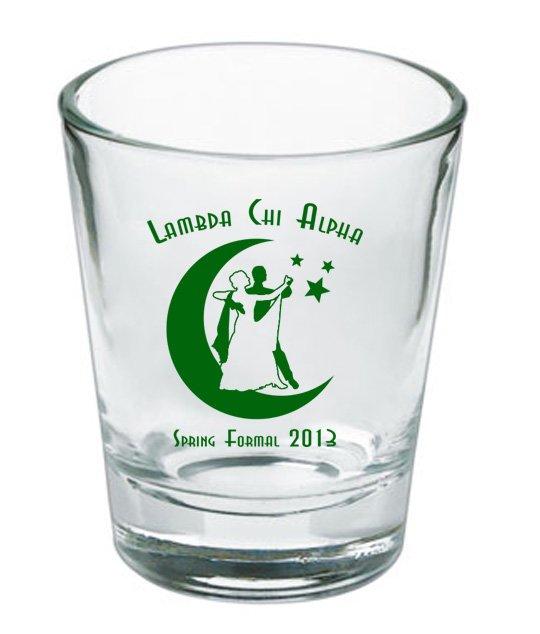 Custom Printed Short Glass Design #3
