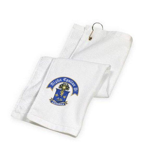DISCOUNT-Alpha Epsilon Pi Golf Towel