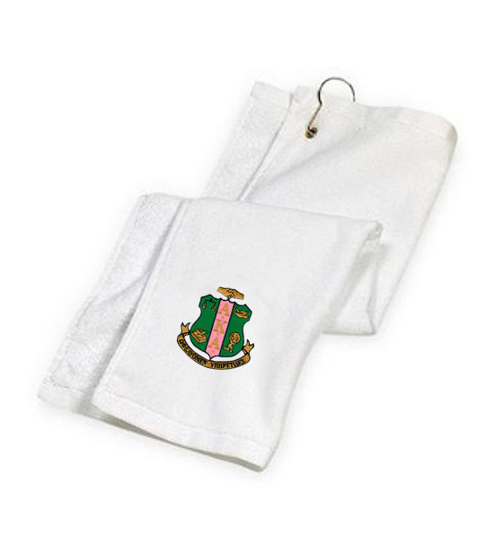 Alpha Kappa Alpha Golf Towel