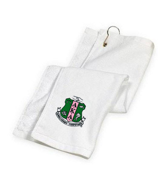 DISCOUNT-Alpha Kappa Alpha Golf Towel