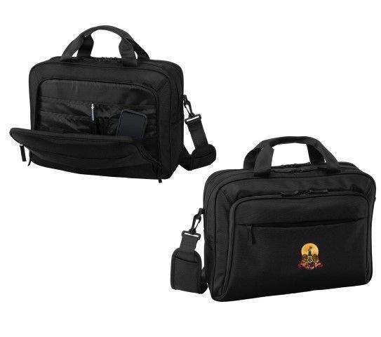 DISCOUNT-Kappa Alpha Crest - Shield Briefcase Attache