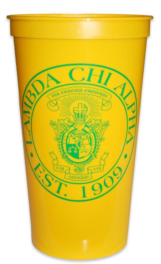Lambda Chi Alpha Big Plastic Stadium Cup