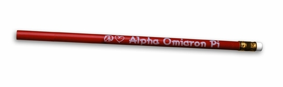 Alpha Omicron Pi Pencil Set (25)