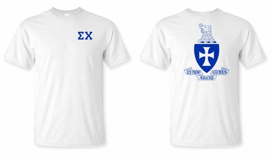 World Famous Greek Crest - Shield T-Shirts -
