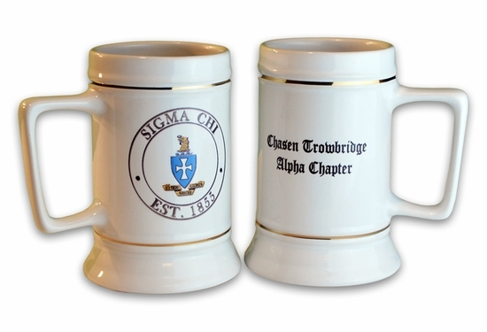 Fraternity Collectors Tankard Stein
