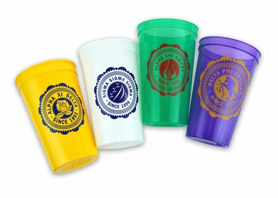 Sorority Old Style Classic Giant Plastic Cup