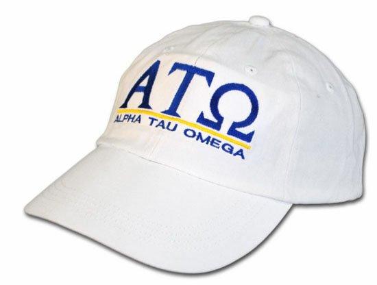 Alpha Tau Omega World Famous Line Hat