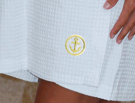 DISCOUNT-Alpha Sigma Tau Mascot Towel Wrap