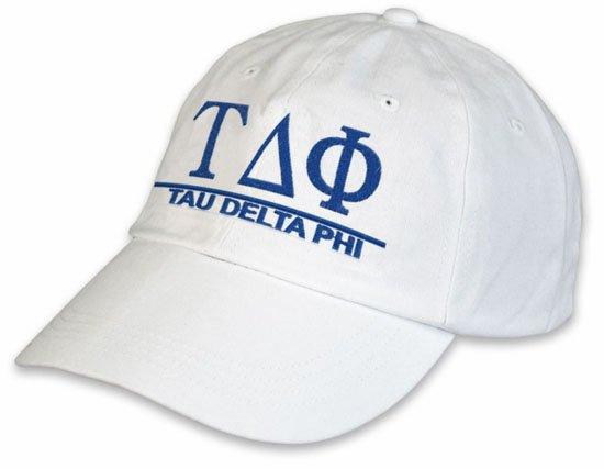 Tau Delta Phi World Famous Line Hat