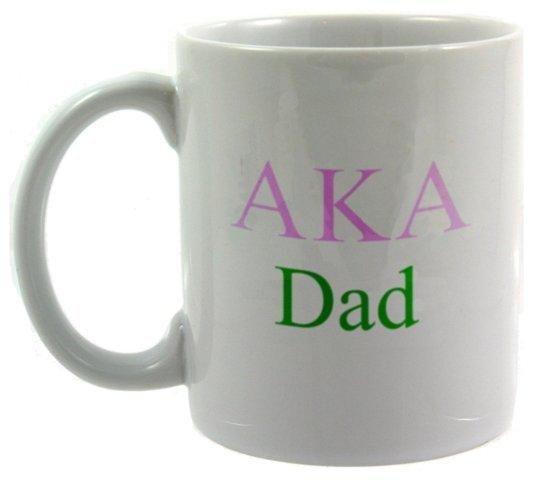 Alpha Kappa Alpha Dad Coffee Cup On Sale - GreekGear.com