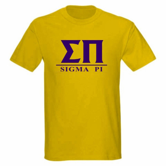 Sigma Pi bar tee