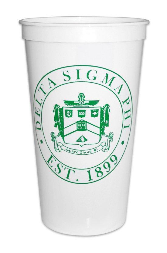 Delta Sigma Phi Big Plastic Stadium Cup
