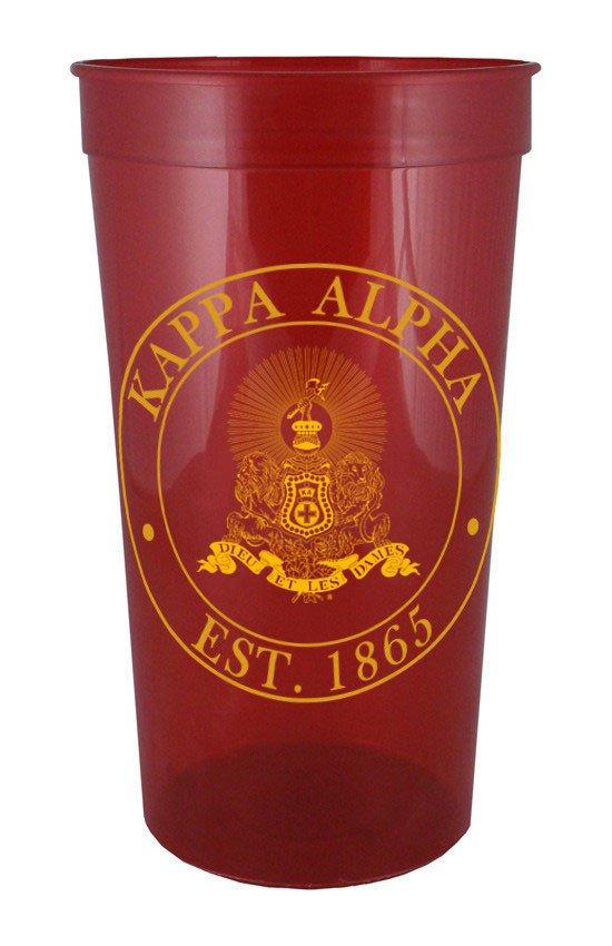 Kappa Alpha Big Plastic Stadium Cup
