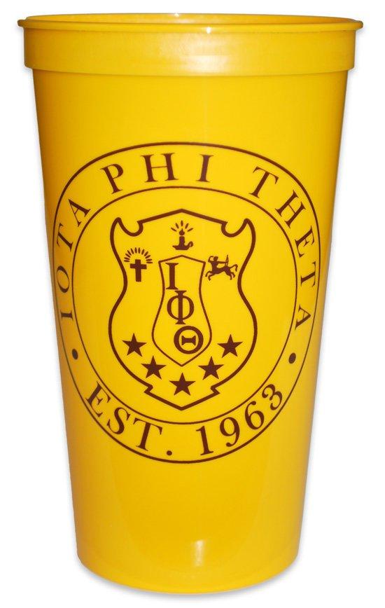 Iota Phi Theta Big Plastic Stadium Cup