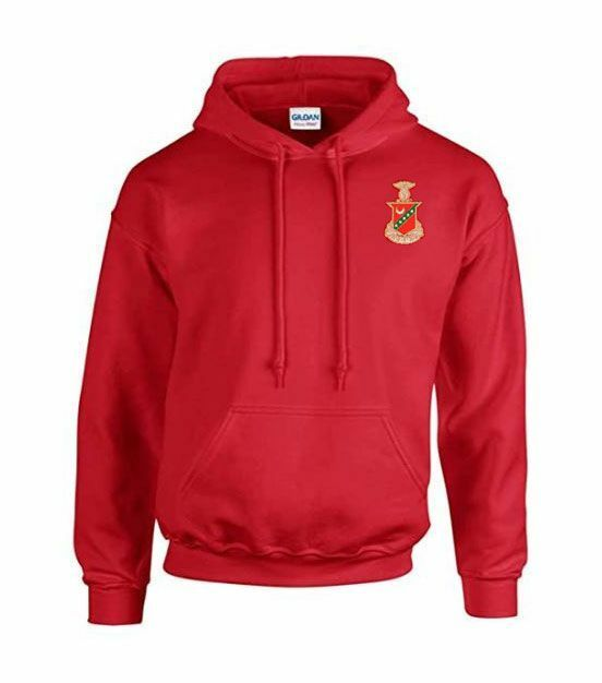 DISCOUNT-Kappa Sigma Crest - Shield Emblem Hooded Sweatshirt